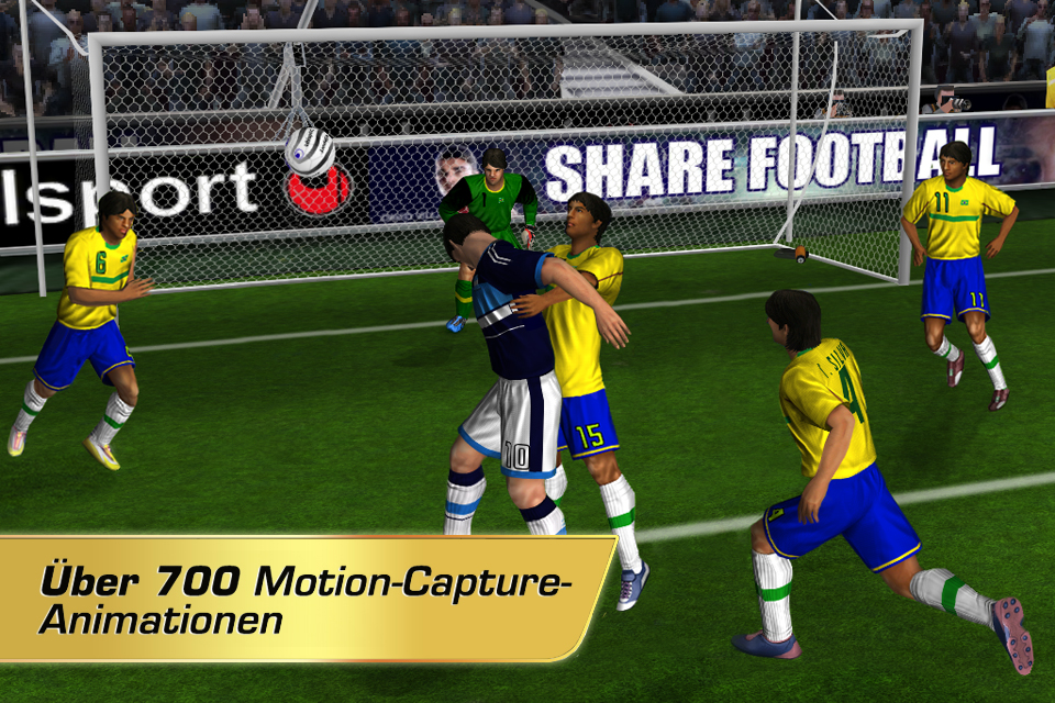 Real Football 2012 iPhone, iPad Screenshot